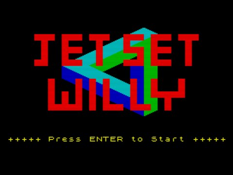 Perfect Jet Set Willy ZX Spectrum with Commentary