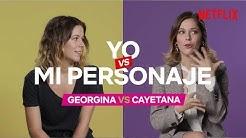 Yo vs Mi personaje con Georgina Amorós | Élite | Netflix España