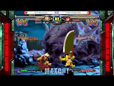 MAXOUT 6212014  GGXXR Money Match  KC's Notor1ous Kliff vs. Violent Gilgamesh Sol