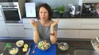 УЖИН ЛЕГКИЙ И СЫТНЫЙ: вкусный овощной салат