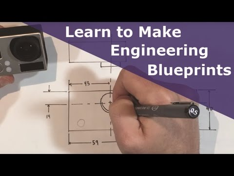 Intro To Mechanical Engineering Drawing Youtube