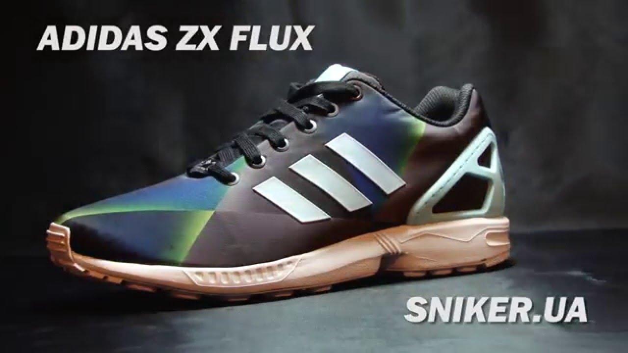 Аdidas ZX FLUX Купить кроссовки - YouTube