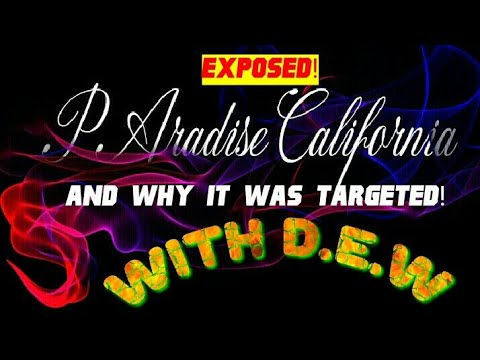 🔴The REAL REASON PARADISE CALIFORNIA WAS OBLITERATED BY D.E.W!