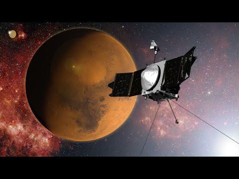 La nave MAVEN de la NASA llega este domingo a la órbita de Marte