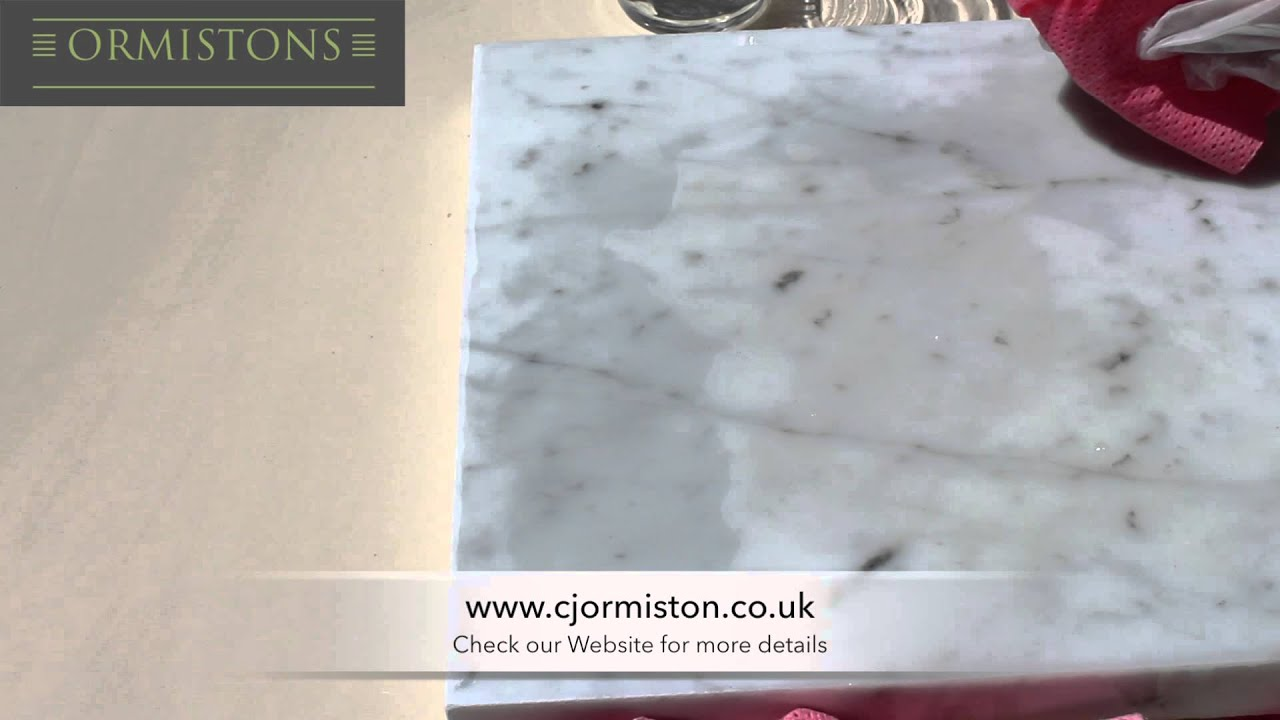 How To Remove Red Wine Stains Out Of Marble   Easily.   YouTube