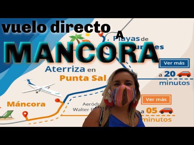 Vuelo directo a Mancora