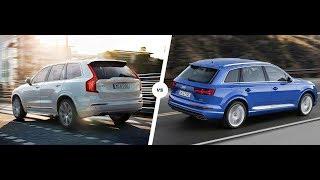 Audi Q7 vs Volvo XC90 crash test