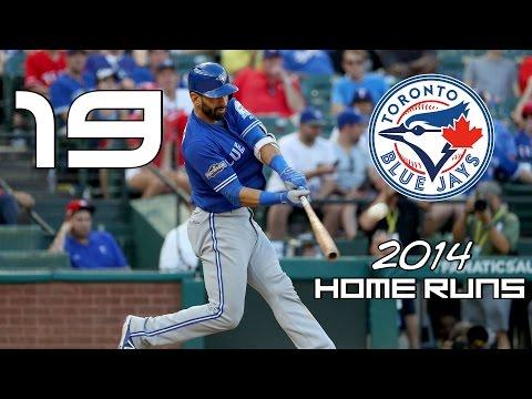 Jose Bautista | 2014 Home Runs ᴴᴰ