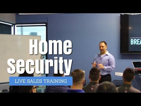 Home Security Alarm Summer Sales Pitch Training At Americas