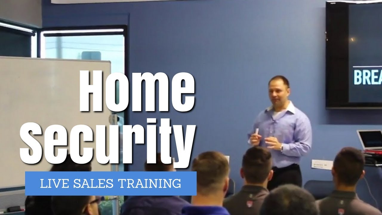 Home Security Alarm Summer Sales Pitch Training At Americas Security