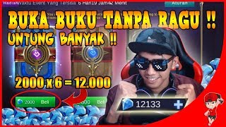 ABISIN 12000 DIAMOND UNTUK BUKA BUKU !! Mobile Legends Indonesia