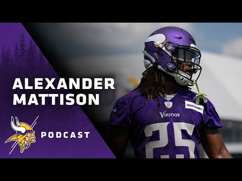 low priced 776ad d8b06 Alexander Mattison Relives His 1st Vikings Touchdown   The ...