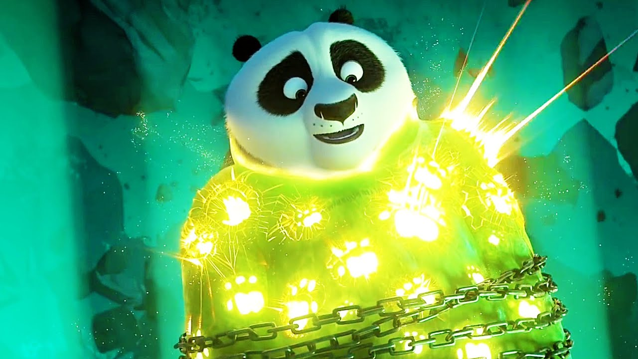 Kung Fu Panda 3 Clip Po Vs Kai Part 3 2016 Youtube