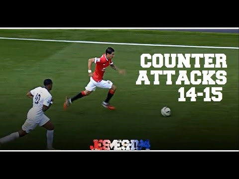 Manchester United Top 5 Counter Attacks 14/15 (HD)