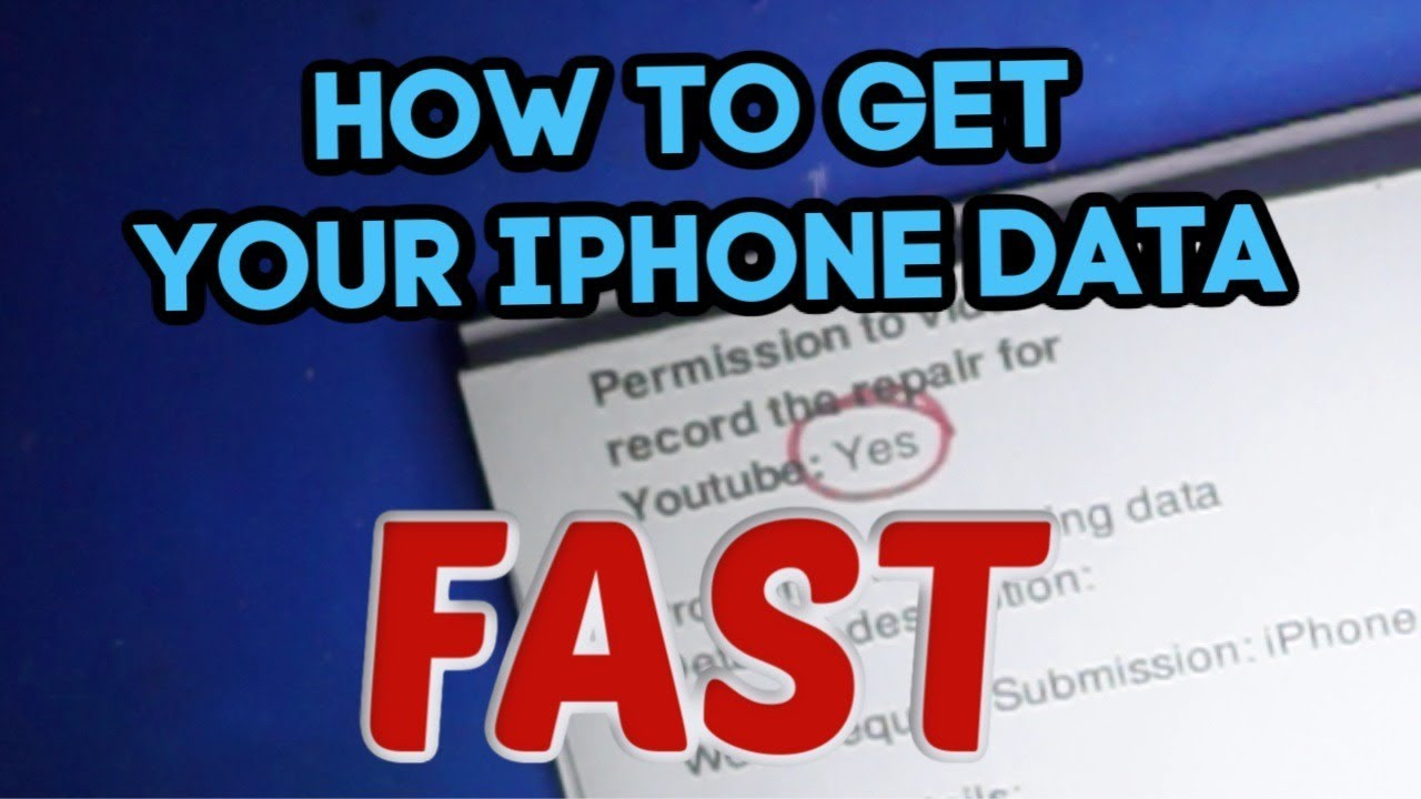 This is how to get the fastest possible dead iPhone data recovery