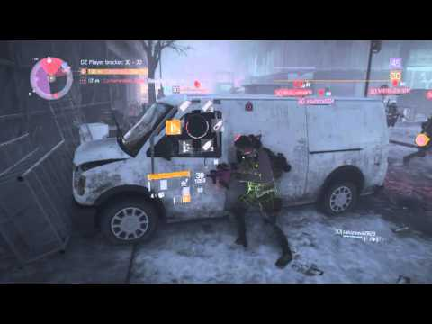 The Division Dark Zone 2 vs 6 Rogues Kill'em all PS4