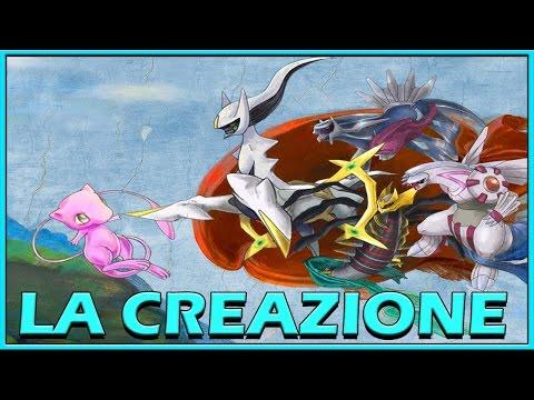 LA CREAZIONE - Storia del mondo Pokémon!!!