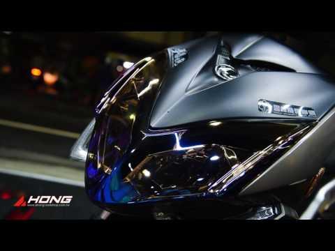 阿鴻部品 Kymco Racing S 雷霆S 鍍鈦大燈護片
