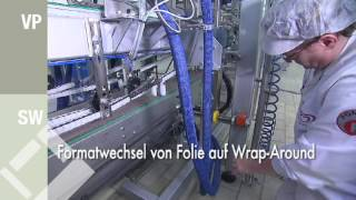 Packaging machine VP501 & Shrink Wrapper SW60-30 - for film an…