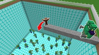 ARDA ÖLÜRSE ZOMBİ ÇUKURUNA DÜŞECEK! 😱 - Minecraft