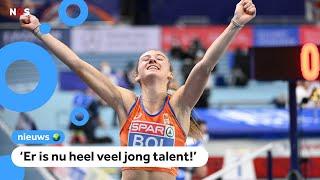 Veel medailles voor Nederland op EK Indoor Atletiek
