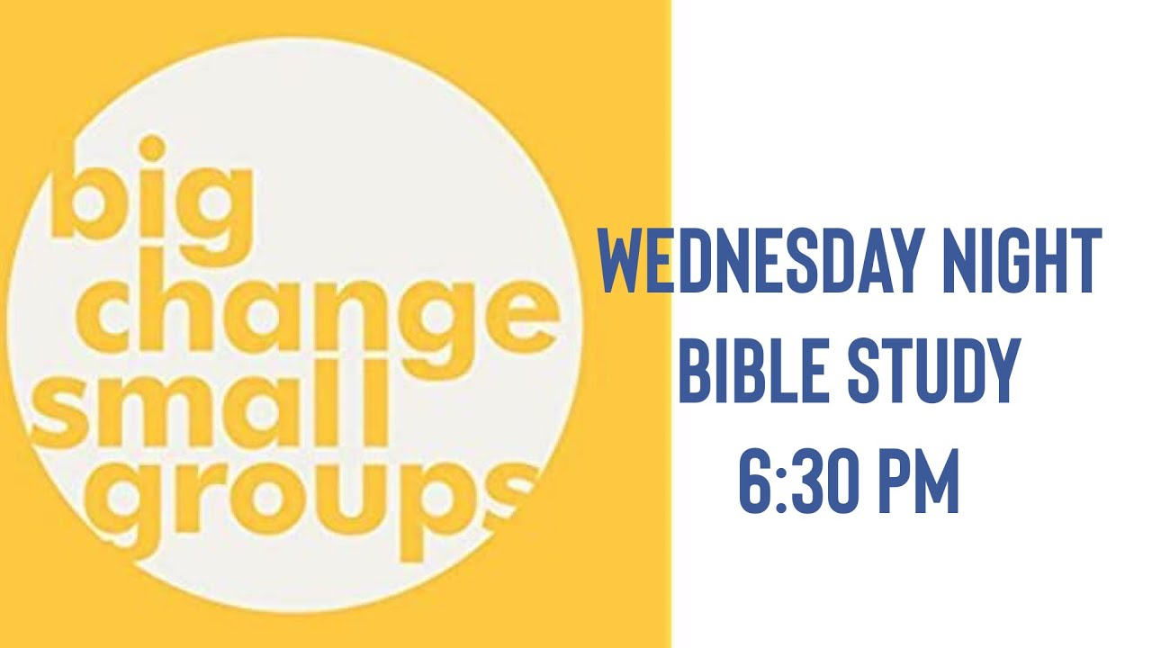 Big Change Small Groups - Session 3