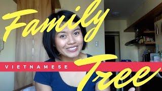 Family Tree in Vietnamese | Vietnamese Family Titles