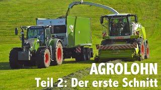 Lohnunternehmen Agrolohn: Der erste Schnitt – Mähen, Häckseln, Ladewagen