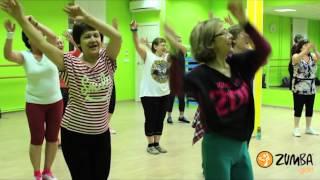 Zumba Gold® Challenge 2016. Dance4health studio & Russian ZIN team