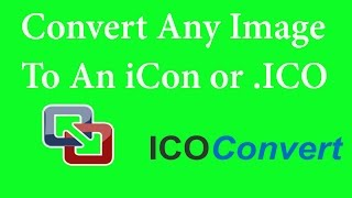 how to convert png jpg to ico image no download with visual basic tutorials easy