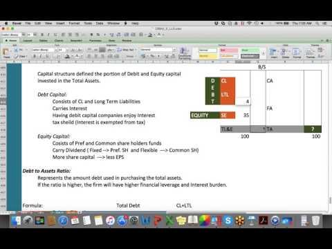 CMA Part2 Solvency Analysis