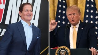 Mark Cuban and Donald Trump seem to agree on Facebook's Libra