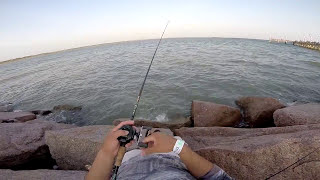 Seawolf Park fishing (Compilation) GoPro Hero3+ 720p HD