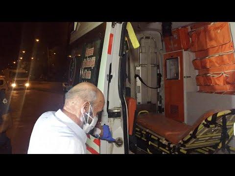 Testi pozitif olan yaşlı adam yolcu minibüsünde yakalandı
