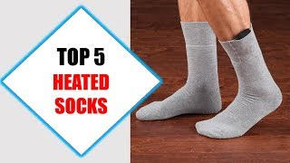 Top 5 Best Heated Socks 2018 | Best Heated Sock Review By Jumpy Express