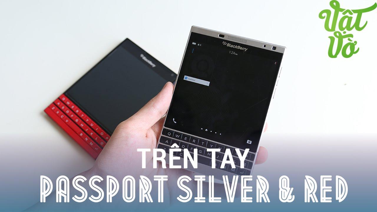 Vật Vờ| Đánh giá nhanh và so sánh BlackBerry Passport Silver & Red (Passport màu bạc và đỏ)