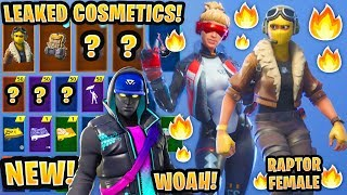 'NOUVEAU' All Leaked Fortnite Saison 9 Skins -Emotes..! 'CEEDAY FEMALE SKIN! (Versa, Gemini, Cryptic)