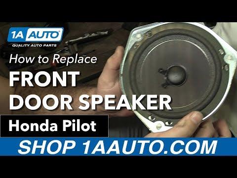 How to Replace Front Door Speaker 03-08 Honda Pilot