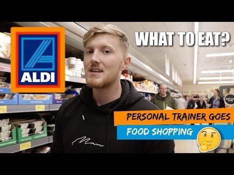 Supermarket Food Shop   ALDI   Personal Trainer Edition   Healthy