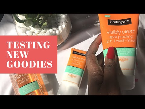 Review| NEUTROGENA  PRODUCTS | SOUTH AFRICAN YOUTUBER