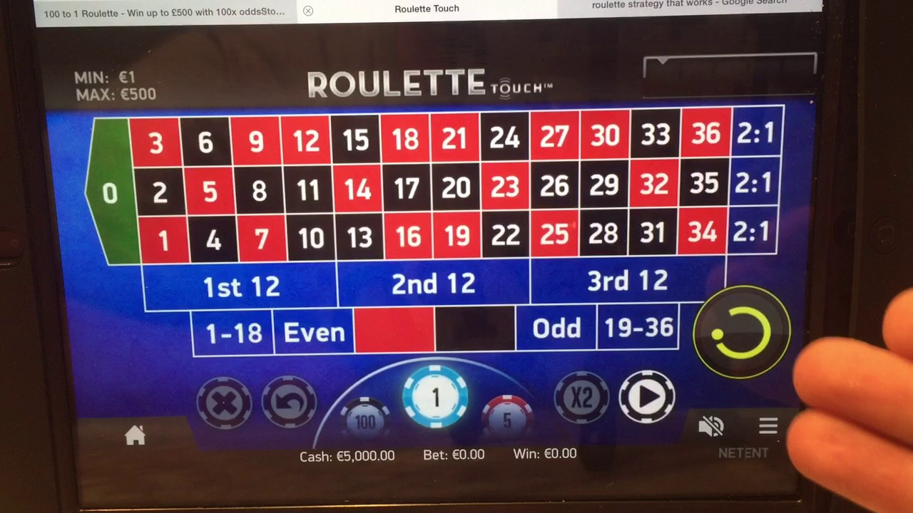 Roulette winning system forum