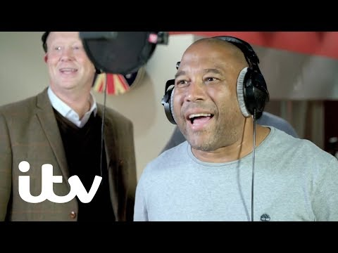 John Barnes Rerecords the England Classic 'World in Motion' | Harry's Heroes: The Full English | ITV