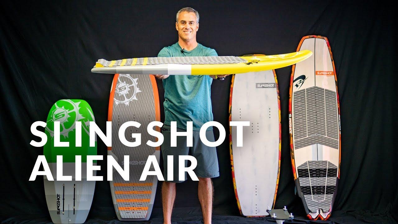 2019 Slingshot Alien Air Foilboard Review