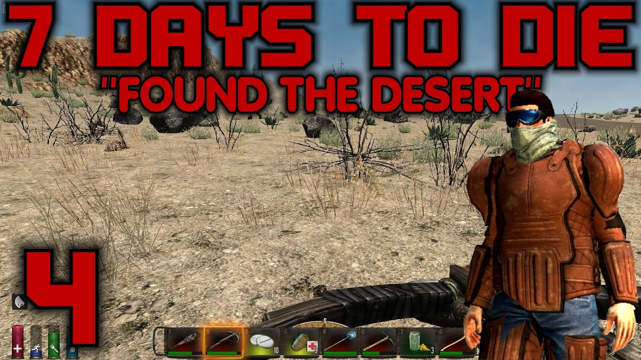 7 days to die how to find clay in desert