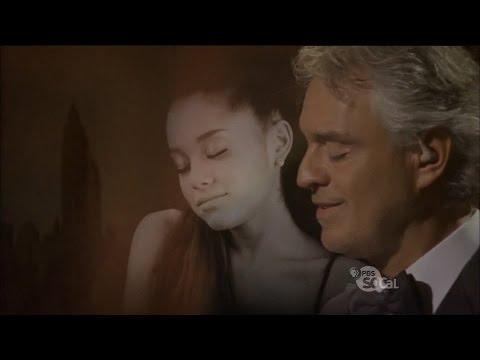 Andrea Bocelli & Ariana Grande Live E Più Ti Penso 2015
