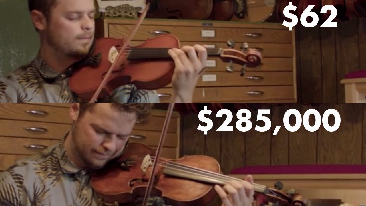 can you hear the difference between a cheap and expensive violin