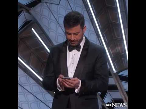 Thumbnail: Jimmy Kimmel Tweets to President Trump | Oscars 2017