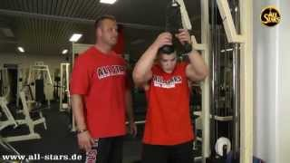 ALL STARS Teamcoach Bernhard Schuber & Junior Kevin Schleier Armtraining FST 7