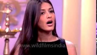 Sonali Bendre and Ajay Devgan speak about the film 'Tera Mera Saath Rahe'