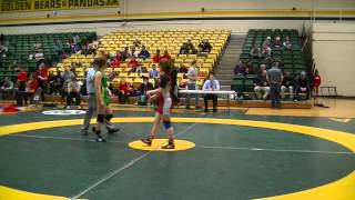 2015 Golden Bear Invitational: 55 kg Final Amber Maschke vs. Krystin Paquette